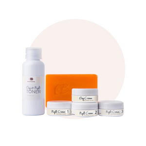 Beautederm Travel Beaute set with Undereye Whitening Cream