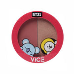 Vice Cosmetics BT21 Aura Blush and Glow Duo - Old Rose