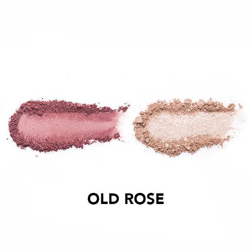Vice Cosmetics BT21 Aura Blush and Glow Duo - Old Rose swatch