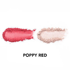Vice Cosmetics BT21 Aura Blush and Glow Duo - Poppy Red swatch