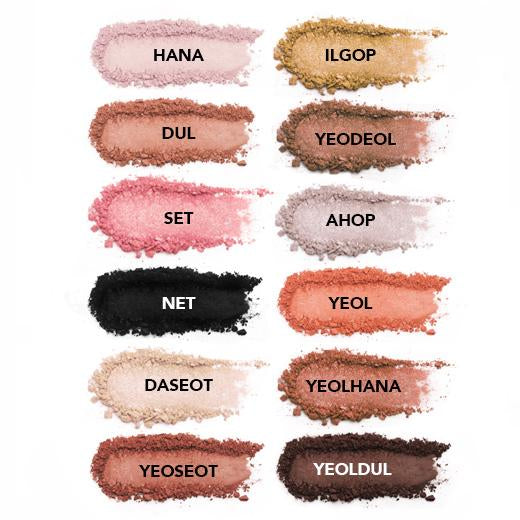 Vice Cosmetics BT21 Eyeshadow Palette swatches