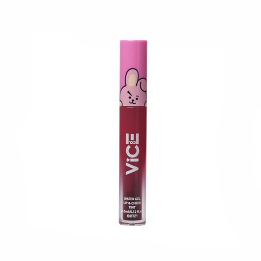 Vice Cosmetics BT21 Water Gel Lip & Cheek Tint - Deep Red