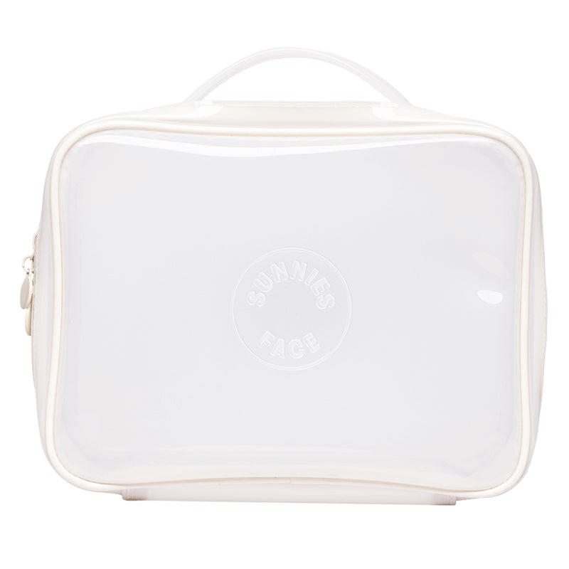Sunnies Face Weekend Jelly Bag - Coconut