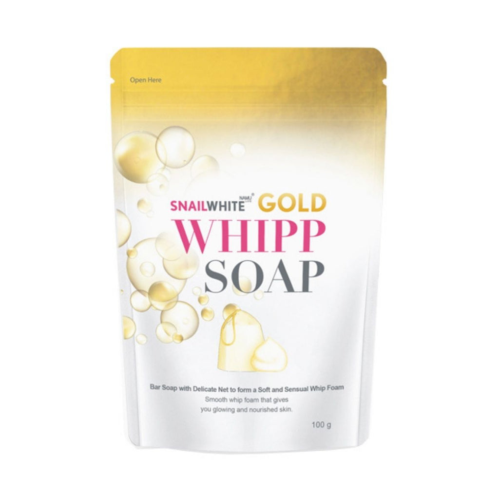 SNAIL WHITE Whipp Soap Gold