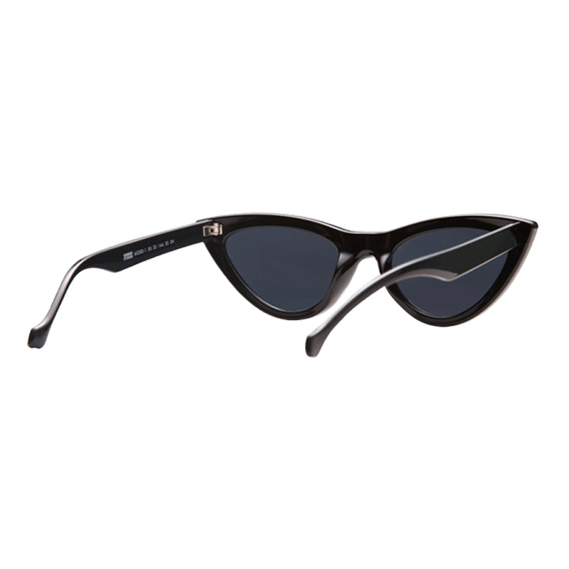Sunnies Studios Zia Cat Eye Sunglasses For Men and Women - Ink Full