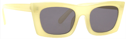 Sunnies Studios Zio Sunglasses in Citrine Full