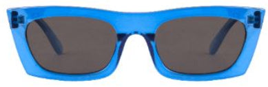 Zio Sunglasses for Men and Women - Electric Blue Full