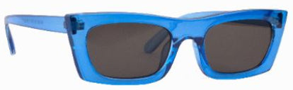 Sunnies Studios Zio Sunglasses in Electric Blue Full