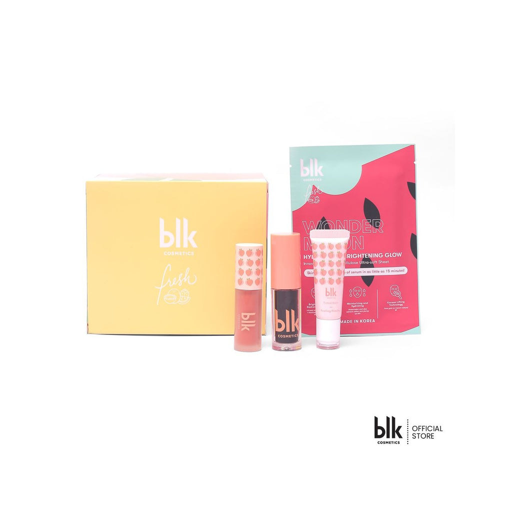 blk cosmetics Feeling Peachy Box Set - Free Brightening Face Mask!