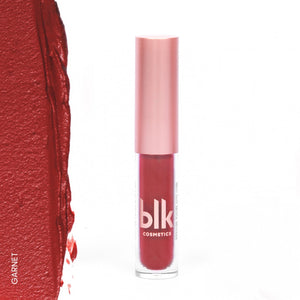 blk cosmetics Holiday Mini Soft Matte Mousse - Garnet Swatch