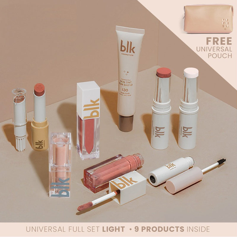 blk cosmetics Universal Full Set With Pouch - Light