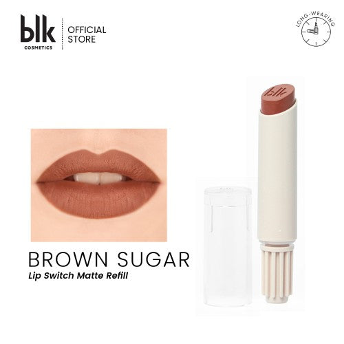 blk cosmetics Lip Switch Matte Lippie Refill - Brown Sugar