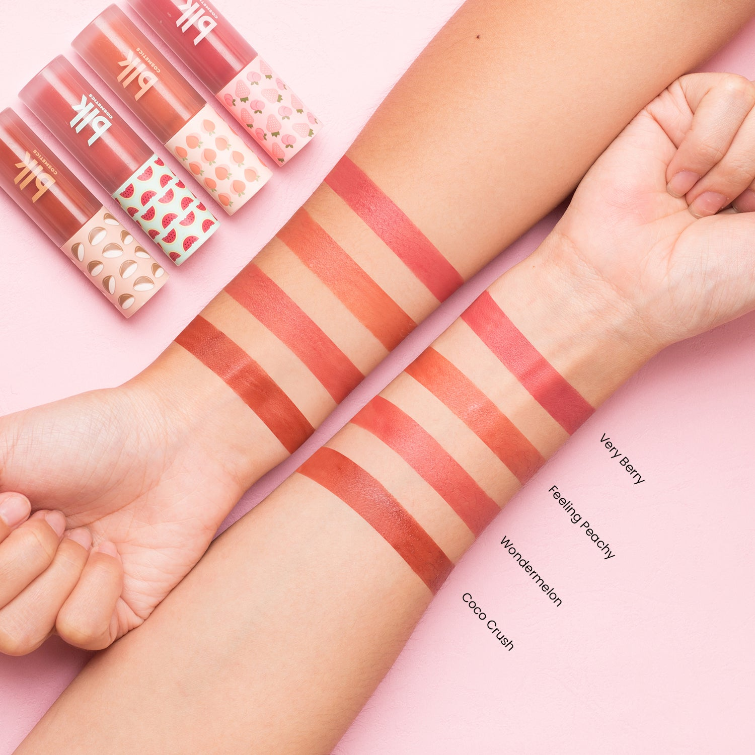 blk cosmetics Creamy All-Over Paint - Fresh Collection Arm Swatch