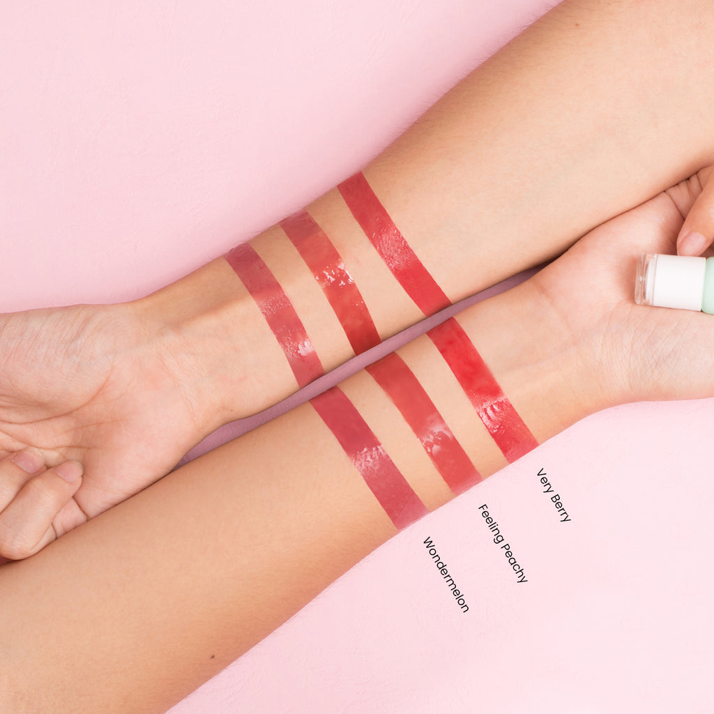 blk cosmetics Tinted Balm - Arm Swatches