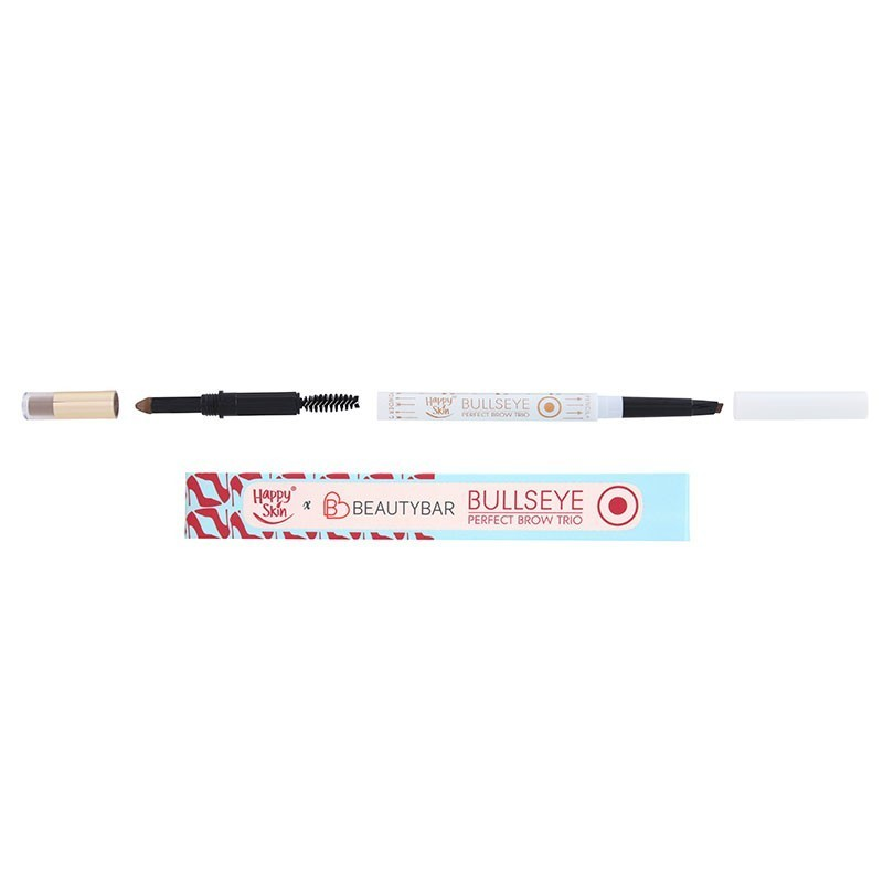 Happy Skin Bullseye Perfect Brow Trio in Soft Brown