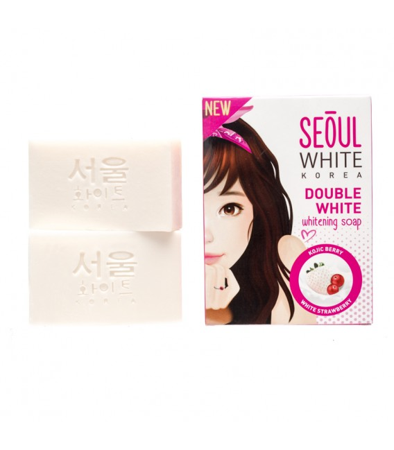 Seoul White Korea Double White Whitening Soap 60g x 2