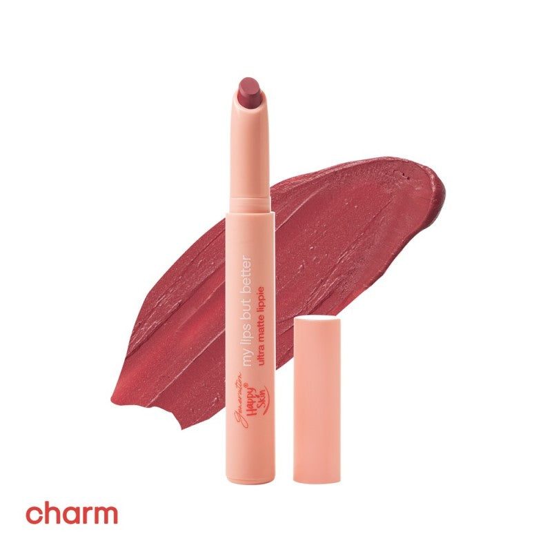 Happy Skin My Lips But Better Ultra Matte Lippie in Charm
