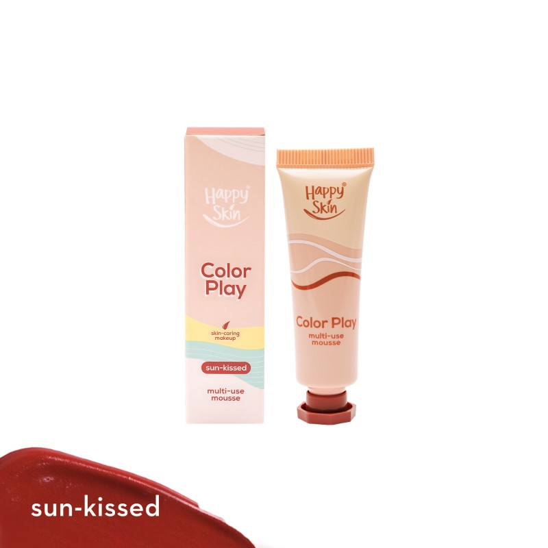 Happy Skin Color Play Multi-Use Mousse In Sun-Kissed