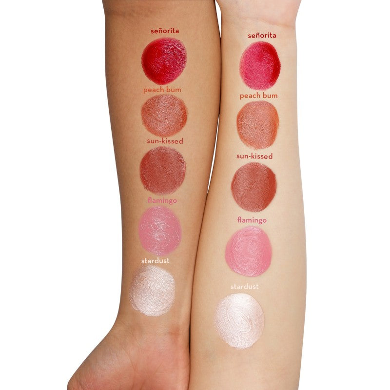 Happy Skin Color Play Multi-Use Mousse In Sun-Kissed Swatch on Skin