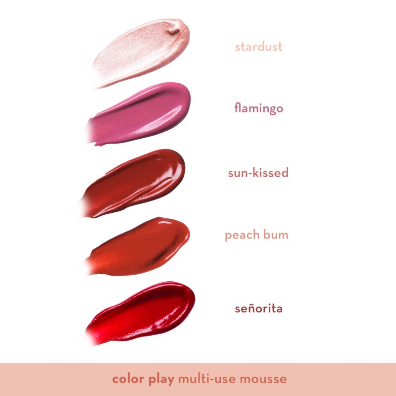 Happy Skin Color Play Multi-Use Mousse In Stardust Swatch
