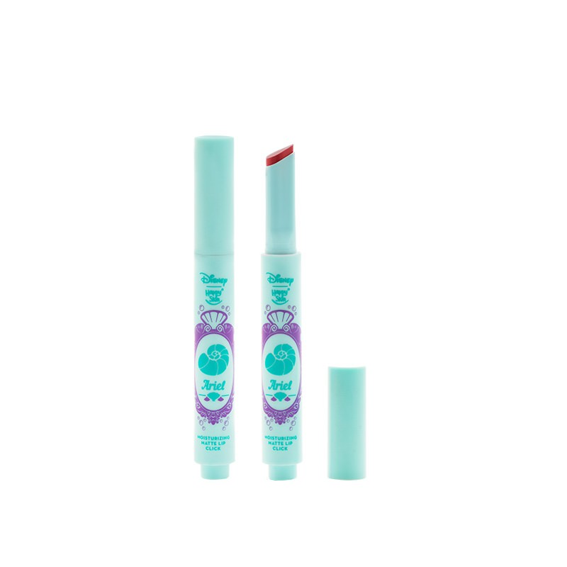 Happy Skin | Disney Limited Edition Moisturizing Matte Lip Click Duo - Rapunzel & Ariel