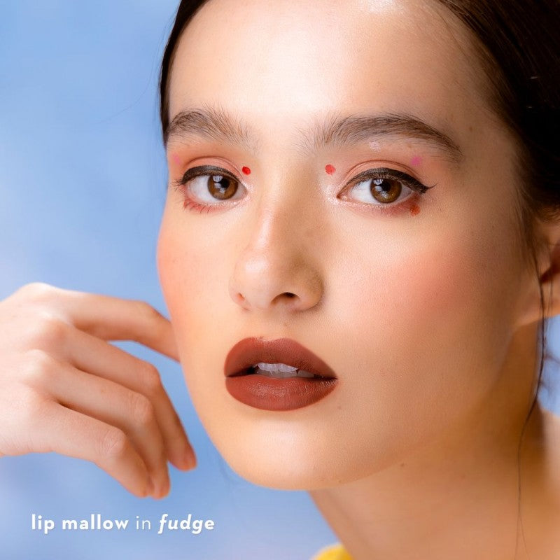 Happy Skin Lip Mallow Mousse- Fudge