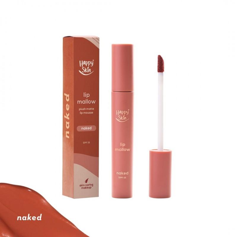 Happy Skin Lip Mallow Mousse- Naked