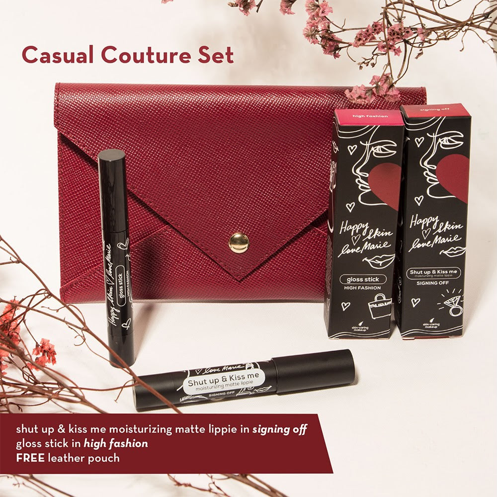 Love Marie Casual Couture Set (Matte Lippie + Gloss Stick)