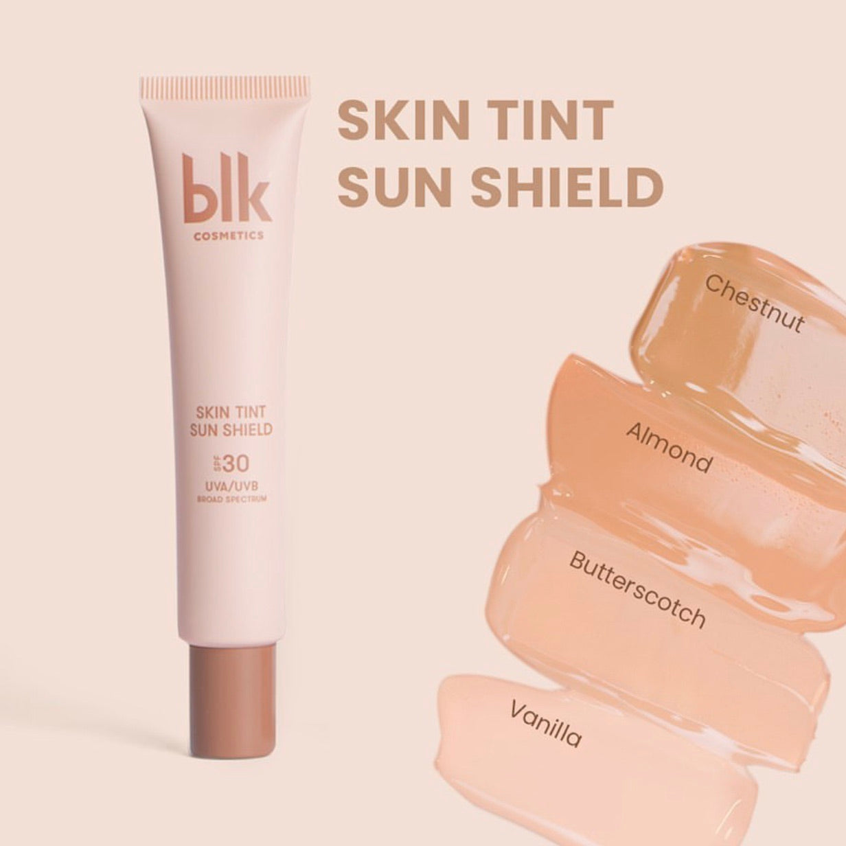 blk cosmetics Skintint Sun Shield SPF 30 - Chestnut