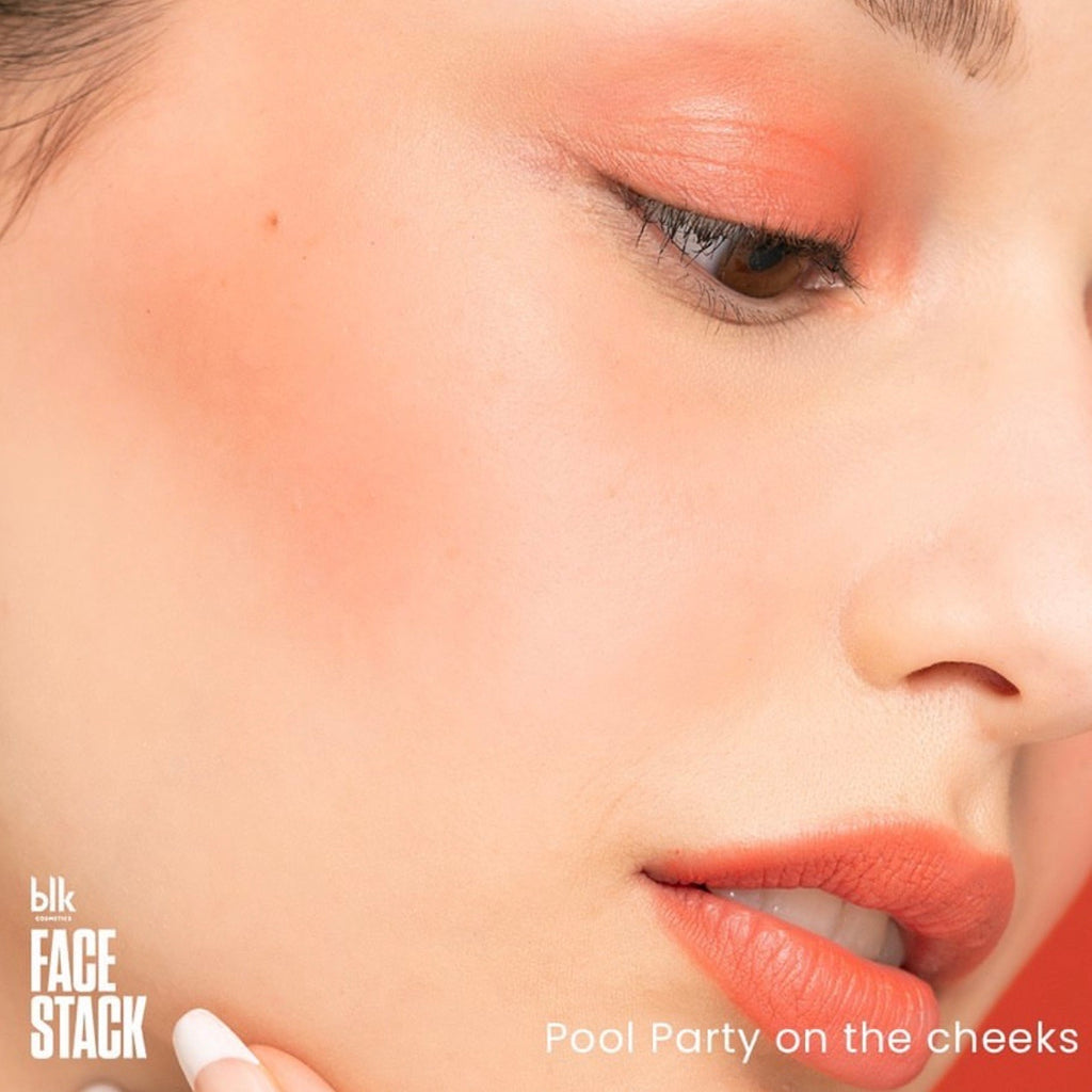 blk cosmetics Face Stack Multi Pot Single Pan - Pool Party