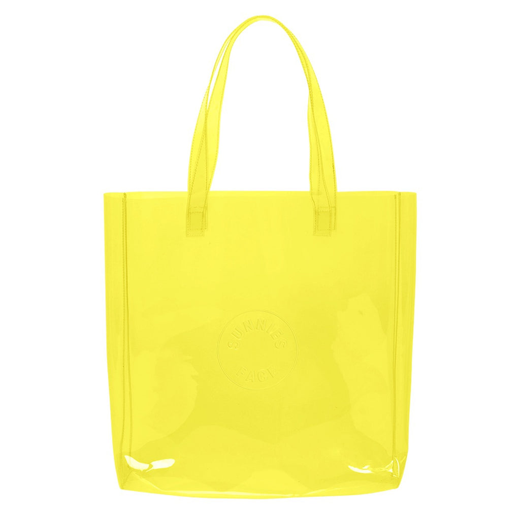 Sunnies Face Limited Edition Jelly Tote in Citron