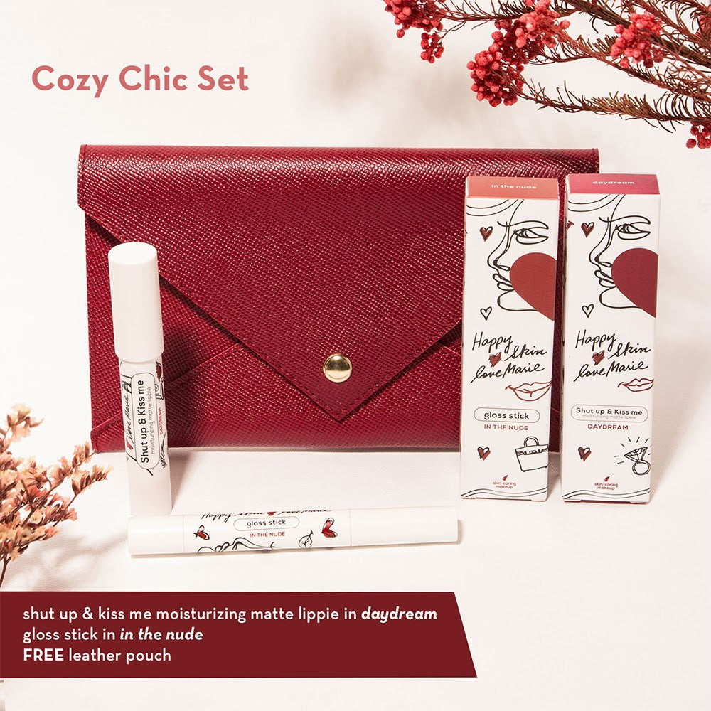Love Marie Cozy Chic Set (Matte Lippie + Gloss Stick)