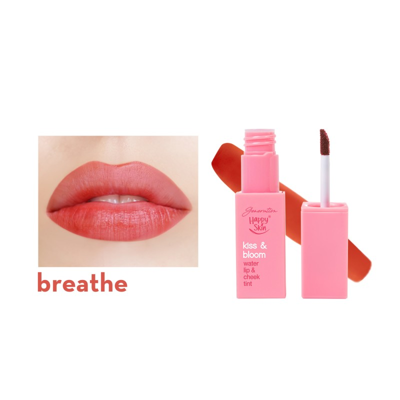 Generation Happy Skin Active Kiss & Bloom Water Lip & Cheek Tint - Breathe