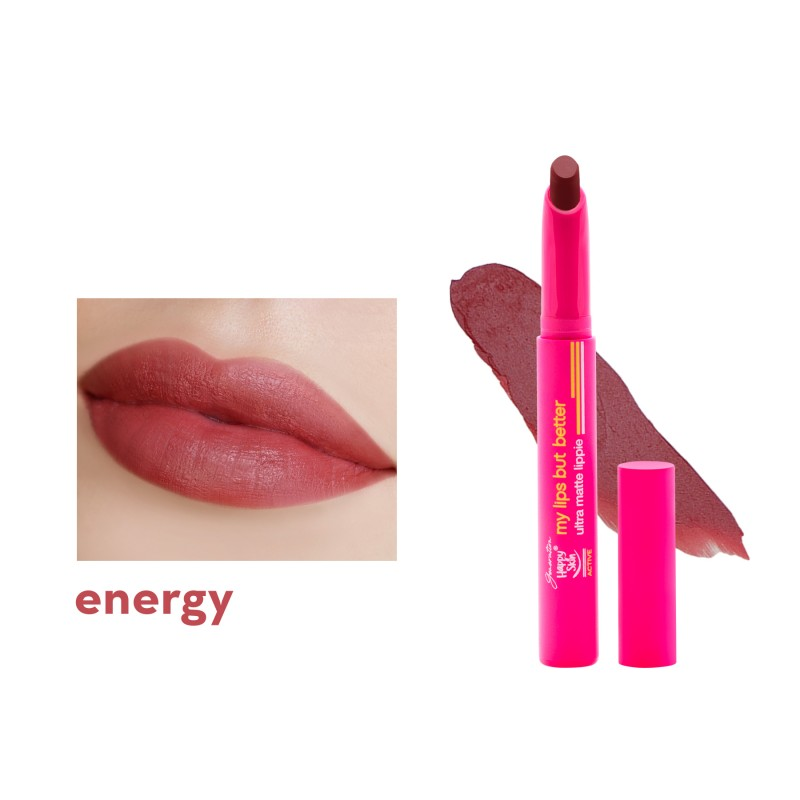 Generation Happy Skin Active My Lips But Better Ultra Matte Lippie - Energy
