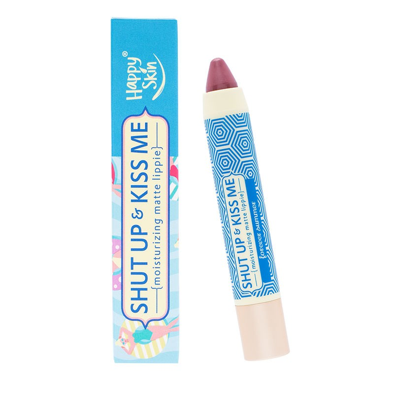 Happy Skin Shut Up & Kiss Me Moisturizing Matte Lippie - Forever Summer