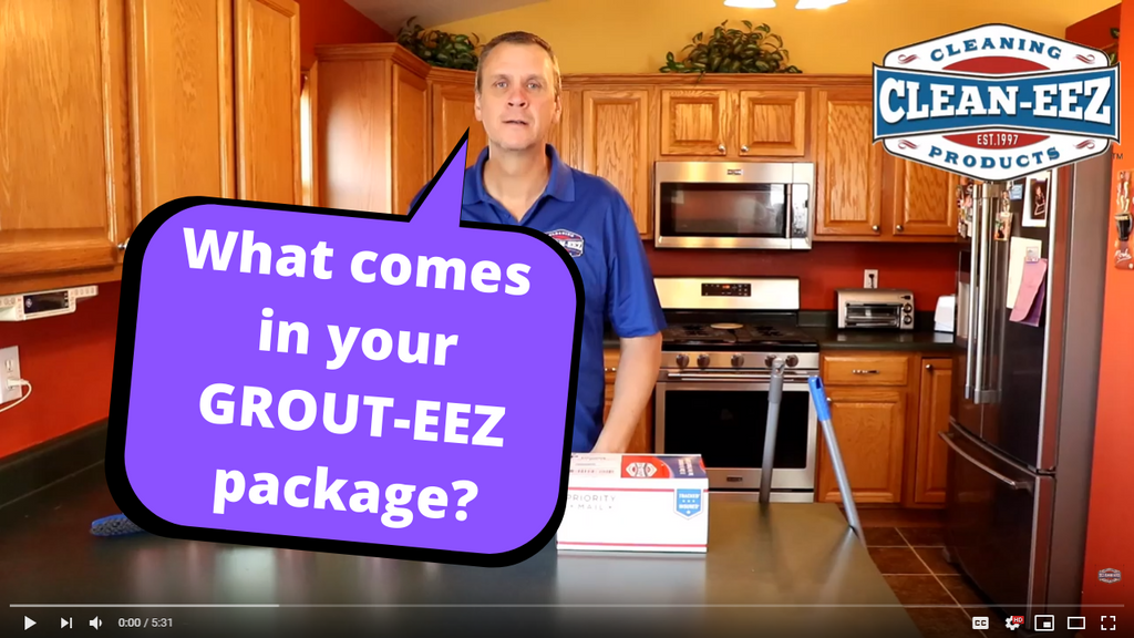 What comes in your Grout-eez box