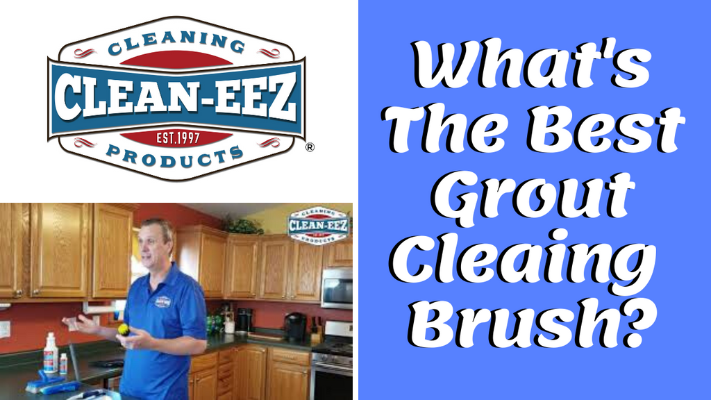 The Best Grout Cleaning Brush To Make Cleaning Your Tile & Grout Easier