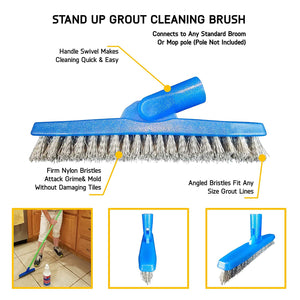 Grout-eez Tile & Grout Cleaner with Grout Brush
