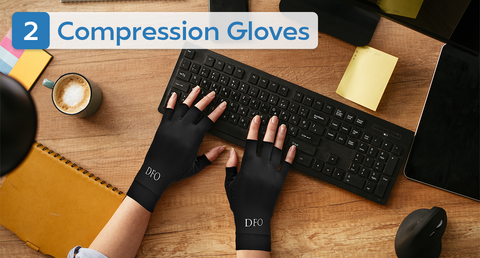 compression gloves for trigger finger arthritis carpal tunnel pain relief