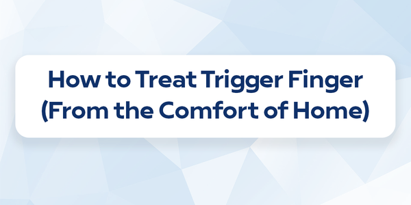 How to treat trigger finger from home
