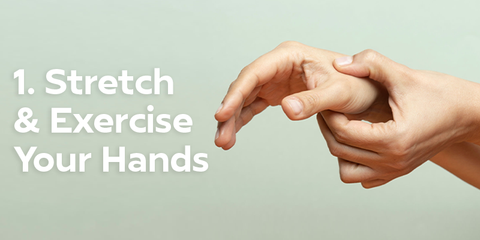 Stretches and exercises to relieve carpal tunnel pain