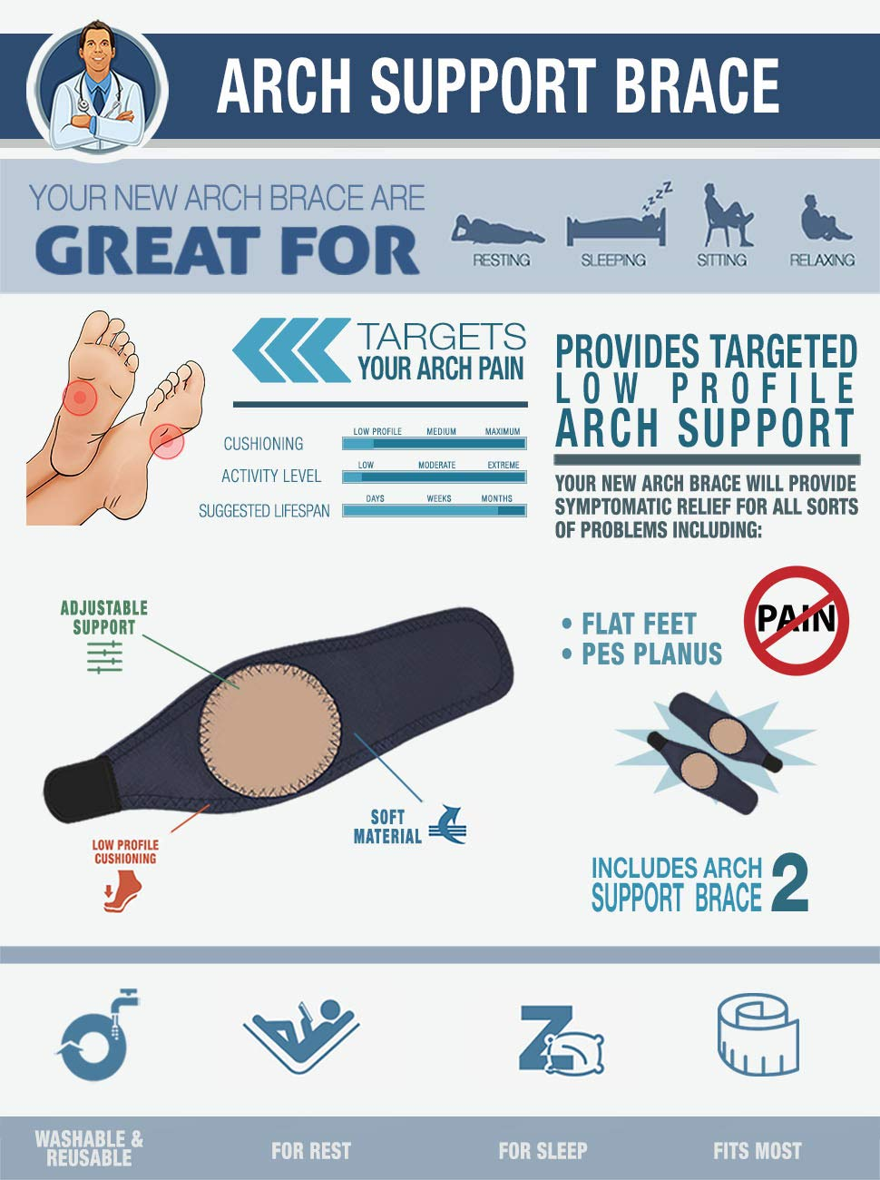 Arch Support Brace