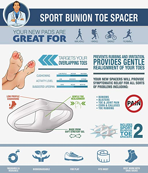 Sport Bunion Toe Spacer
