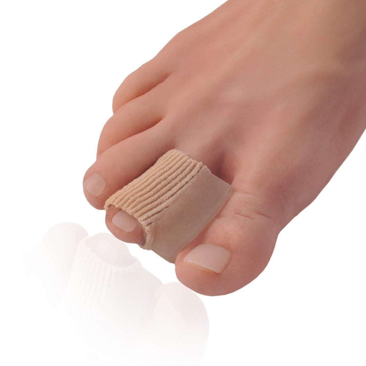 Dr. Frederick's Original Fabrigrip Toe Separators -- 2 Pieces - for Bunions & Overlapping Toes Foot Pain Dr. Frederick's Original