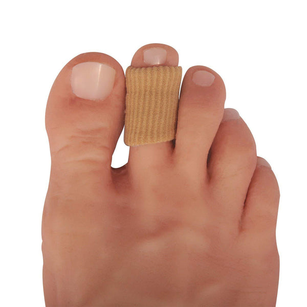 Dr. Frederick's Original Fabrigrip Toe Protectors -- 4 Pieces - for Corns, Calluses, Blisters, and Ingrown Toenails