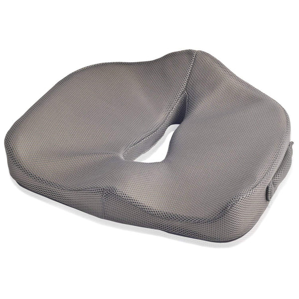 Dr. Frederick's Original BreatheTEC Memory Foam Perineal Cushion - for Perineal Pain, Post-Partum Pain, and Prostatitis
