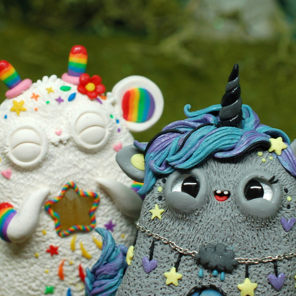 Gloomicorn & Rainbow Rat Weebeasts!