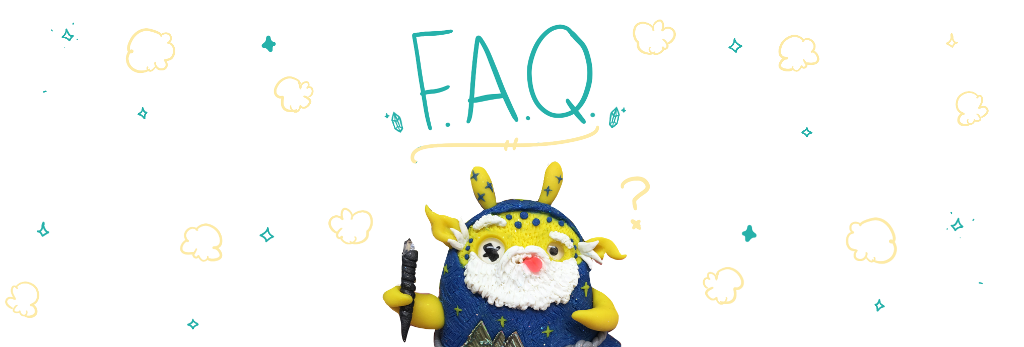 Wif the Wizard weebeast with faq sign