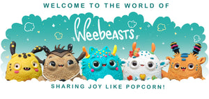 Welcome to the world of Weebeasts! Sharing joy like popcorn!