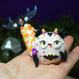 Cynthia - candy corn mermaid weebeast #223 ✦ black onyx  life sourc